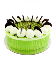 "Lemon and Lime Mousse 7"" (17cm) Round"
