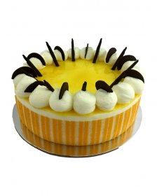 "Lemon Cheese Mousse 7"" (17cm) Round"