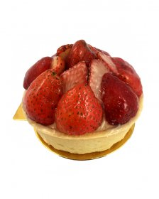 Strawberry Flans (Boxed 4 of)