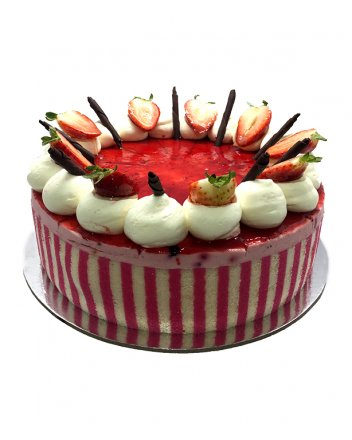 "Wildberry Mousse 7"" (18cm) Round"